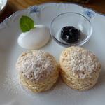 Cream Tea - プレーンのスコーン