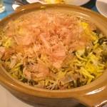 ガラムマサラ - 納豆と牡蠣と鰹節のビリヤニ
