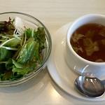 コマツ プルミエ - サラダとスープ