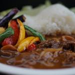 レストラン 花水月 - 蓼科牛カレー