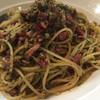 ニューオリンズ - 料理写真:にんにくとたかのつめパスタ