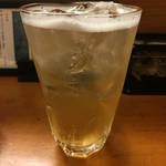 居酒屋 - 最初は梅酒のソーダ割りが基本の私♡この梅酒うま!