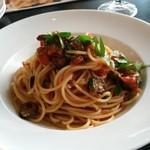 360 イタリアン レストラン - 本日のおすすめ(1080円)はローマ風プッタネスカ
