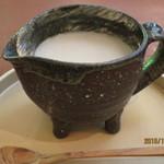 そばきり 日曜庵 - 蕎麦湯