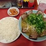 52268135 - チャーシューメン定食