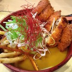 妻籠庵 - 料理写真:恵那鶏ポテトカレーうどん