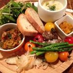 トラットリア・イル・フラゴリーノ - 限定20食のワンプレートランチ 1300円