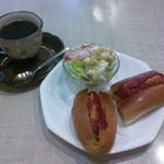 カフェとも - 料理写真:ホットドッグモーニング