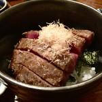 52274158 - 佐賀牛ステーキ丼