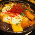 とんかつ まい泉 - 東京Xのバラ肉を使用したすき焼き