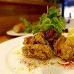 IZAKAYA VIN - 信玄鶏もも肉のからあげ クミン・コリアンダー風味 1600円