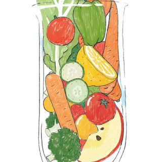 オーナー特製☆野菜ジュース