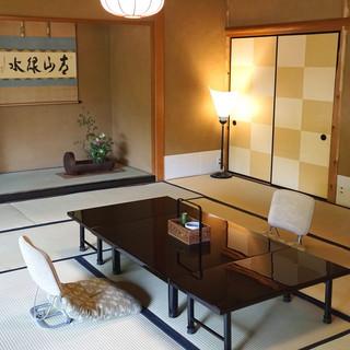 京都 吉兆 嵐山本店 - 部屋