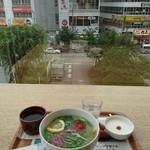 Cafe MUJI - フォーと杏仁豆腐