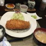 とんかつ 真 - 厚切り上ロースカツ定食1450円