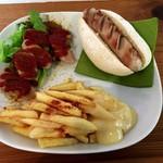 サウンズ グッド - 料理写真:ベルリーナプレート 980円