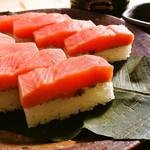 「奥飛騨大マスの極(きわみ)ます寿司」1人前(8切)