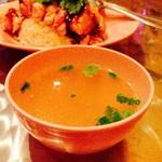 オカバンゴ - 鶏がらスープが旨いわ♡生姜がアクセント‼︎