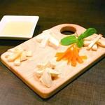 カフェ ド ガバチョ - チーズ盛り合わせ