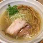 麺屋 壱心 - 連れの『塩そば』¥750。