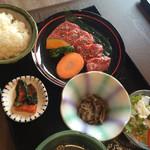 米沢牛炭火焼き べこや - 料理写真:米沢牛!
