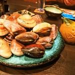 端黎 - 料理写真:山盛りの地蛤