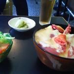 リミエール - 山かけ丼定食800円