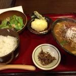 うどん土佐屋 - レディースセット700円