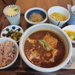 城下カフェ - ビーフシチューランチ 1100円