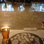 Cafe&BarbecueDiner パブリエ - 巨大な相席テーブル