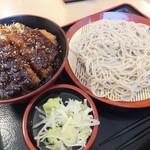 52288335 - ソースカツ丼セット890円