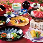 観山荘本館 - 料理写真:飲み放題コース