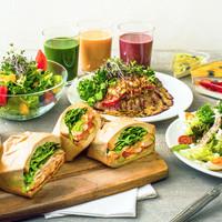 Bon Vivant sandwich - ヘルシーを意識した彩り豊かな商品。
