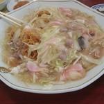 新和楼 - 皿うどん(細麺2人前)