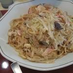 新和楼 - 皿うどん(太麺2人前)