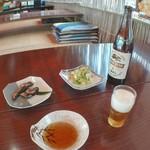 鯉西つけば - ビールと鮎の佃煮