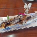 鯉西つけば - ハヤとイワナの塩焼き