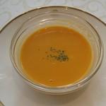 資生堂パーラー - トマトクリームスープ