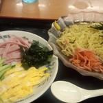52299317 - 黒酢しょうゆ冷し麺(大盛り)