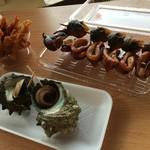 海陽 - 焼き物、揚げもの各種