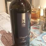 イルベッカフィーコ - シチリア エトナのGrappoli di Notte、シチリアの土着の品種だそうです。