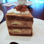 Rouge et Piquant - ルージュ エ ピコン チョコバナナケーキ