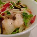 アラウンド - ワニと鎌倉野菜のヘルシー丼