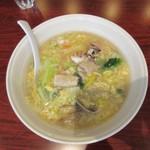 天津飯店 - 北京風海鮮湯麺