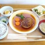 52302642 - 煮込みハンバーグ定食