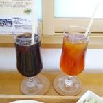 Pino - アイスコーヒーとアイスティー