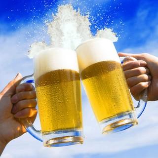 毎月24日はにしかの日♪☆生ビール何杯飲んでも1杯100円!