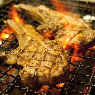 ブリオと言えば炭焼き肉料理!