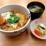 お菜家 - カツ丼