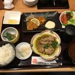 52304824 - 日替わりランチ ハーフ&ハーフ920円